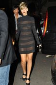Simple See Through Little Black Dress