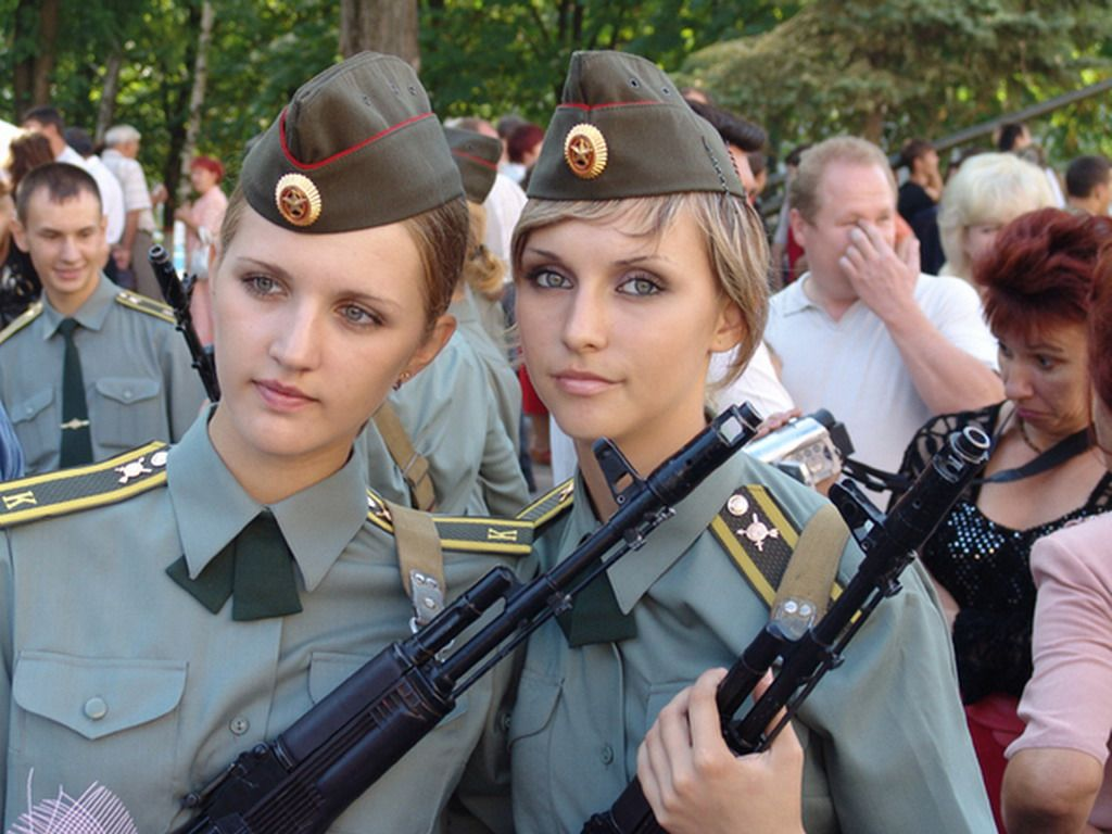 Russian Military Girls