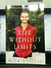 Nick Vujicic is one of the most incredible men I have ever heard of in