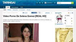 Video Porno De Selena Gomez [REAL HD] / @Darkngel19  @Guillermo
