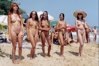 Miss Nude� competition in which took part five young ladies from