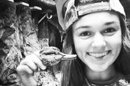 Sadie Robertson celebrates a successful duck hunt — AE com