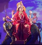 Hema Malini | Hema Malini as goddess Durga  Yahoo! OMG! India
