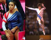 Team USA�s leotards bring back memories of Mary Lou Retton�s look