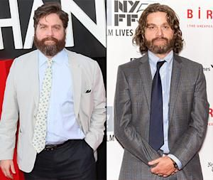 Zach Galifianakis Debuts Major Weight Loss At First Public Appearance In A Year See His Slimmed Down Figure