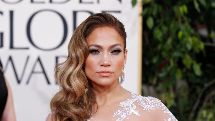 Jennifer Lopez At 70th Annual Golden Globe Awards In Beverly Hills