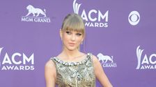 singer Taylor Swift at the 48th Annual Academy of Country Music Awards