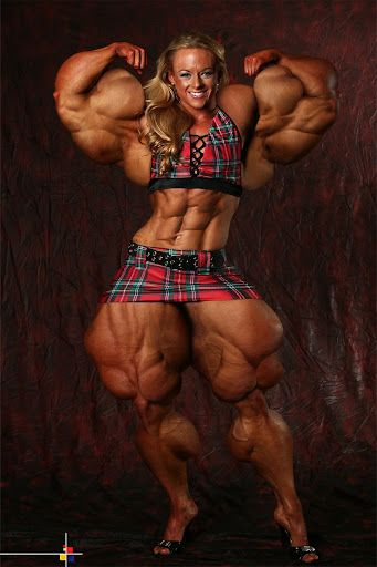 Women Big Muscle