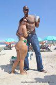 and Brazilian Pornstar Darlene on Copacabana Beach in Rio de Janeiro
