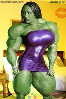 She HulkBetty Viana gets a dose of Gamma radiation. http://areaorion