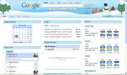 Miles Xu's Blog: My Google Homepage