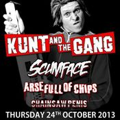 Kunt And The Gang, Scumface + Support Tickets | The Flapper Birmingham