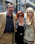 Jillie Mack, Tom Selleck Photo  Tom Selleck, Wife Jillie Mack, and