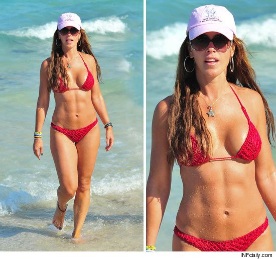 Cristy Rice Bikini On The Beach In Miami