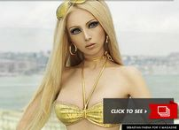 "Much has been said about this "" Human Barbie Doll ""  a woman whose"