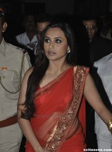 Rani Mukherjee Makeup Mumbai Police Show 2010 FOTD photo