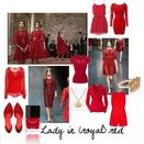 "The Red Queen at D"" by morganmullin on Polyvore"