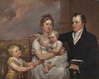 John Trumbull (American artist, 1756 � 1843) The Vernet Family 1806