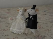 Natasha Fadeeva Mouse Bride and Mouse Groom | Fine and Performing Ar
