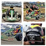 8yr old #DiegoCortes #Kart #Driver with his new #TonyKart, #Racing for