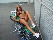 hot biker babe | hot biker girl