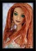 Katya~ OOAK Custom Barbie Basics Redhead Repaint ~JulieElizabeth