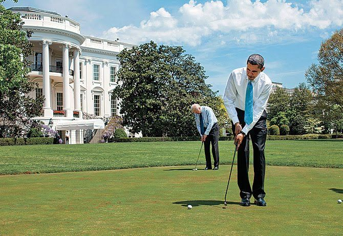 Obama Golf Counter