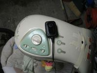 Convert a Baby Swing from Batteries to AC (wall) Power   Future Things