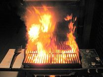 Out of control gas bbq | Natural Gas Grills