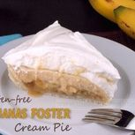 Glutenfree Bananas Foster Cream Pie | The Baking Beauties | GFree