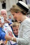 Queen Mathilde, July 31, 2013 | The Royal Hats Blog | Hoeden