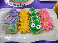Emmie's Rapunzel Birthday | Robin's Cookies Creations