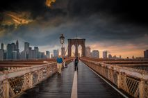 Brooklyn Bridge  After the rain | New York City