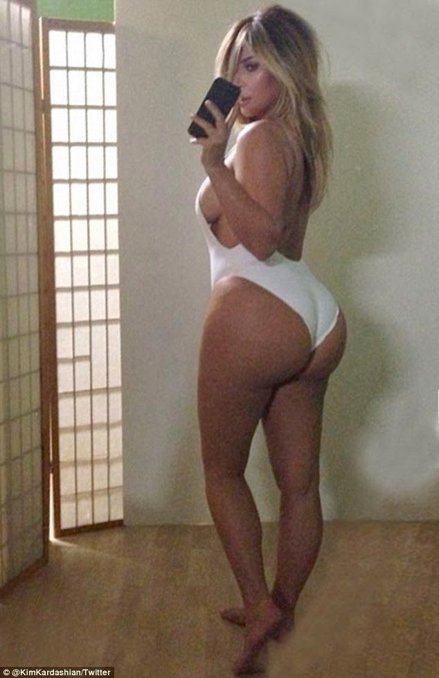 Kim Kardashian Slams Butt Implant Rumors
