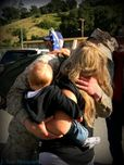first time meeting daddy | My Military Photography J  Rose Photograp