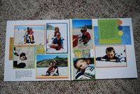 Traditional LO: paradise by Angie on SS | Scrapbook Layouts  SUMMER