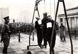 Lodz, Poland, Execution by hanging  | The final solution