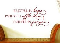 Be Joyful in Hope | Faith and Inspiration