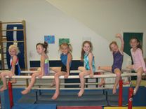 Fun on the PB girls from Central Coast Gymnastics Sports Center Inc in