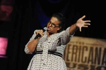 Brittany Howard of Alabama Shakes performs  The group was awarded New