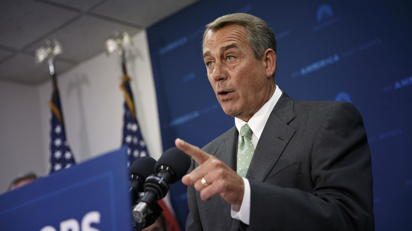 Boehner Says Apart From Foreign Policy, Trump Has Been 'A Complete Disaster' - NPR