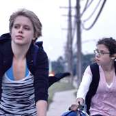Claire Sloma And Annette DeNoyer In Myth Of The American Sleepover.
