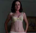 thatdogsblog: Alexis Bledel nude (side boob!  I Like to Watch