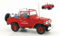 Toyota BJ 40 pompier chessy les mines 1980 Norev diecast model car 1