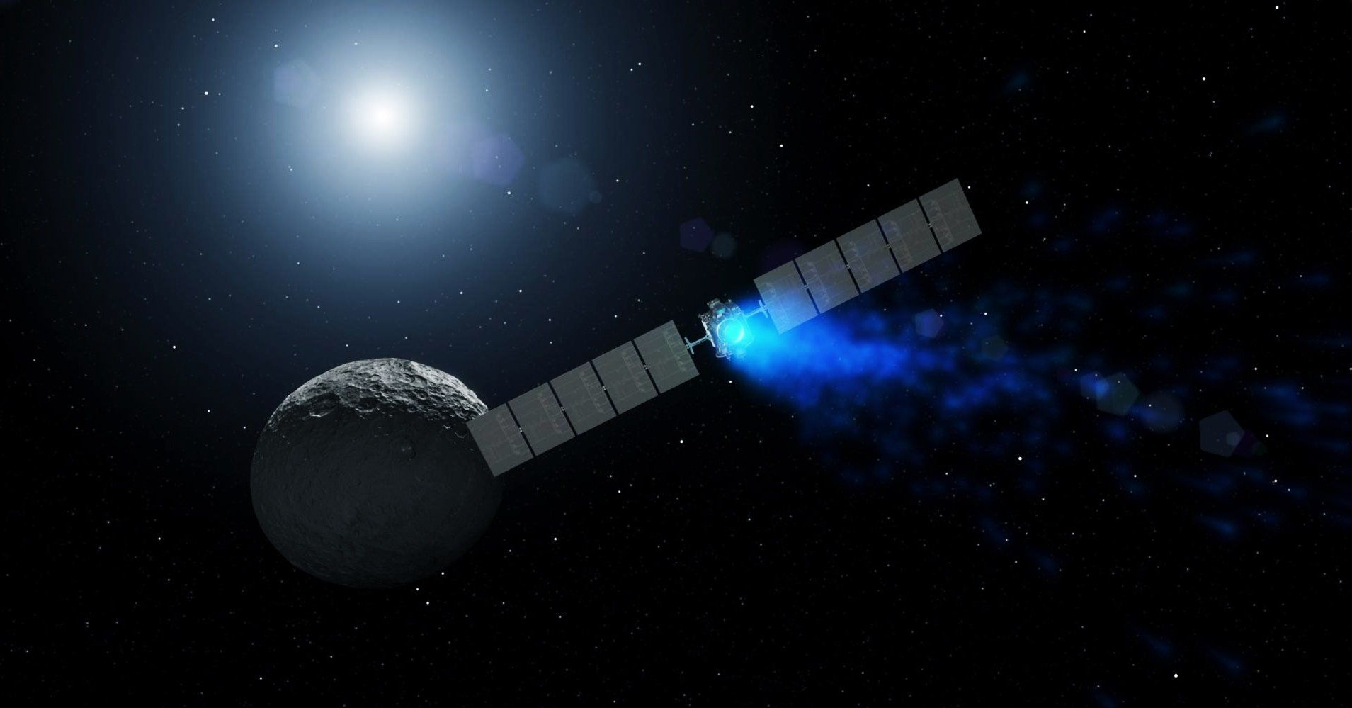 Catching Up With Dawn, the Massive Spacecraft Exploring the Asteroid Belt