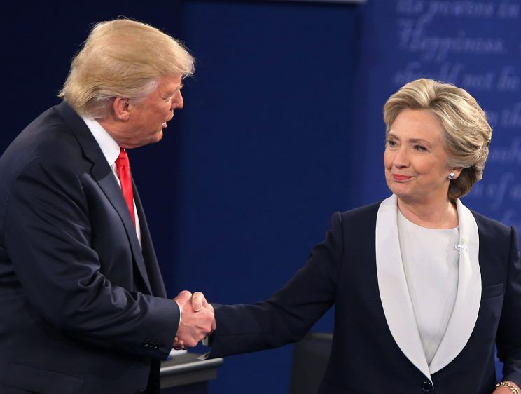 Debate prep video is a lesson in how to avoid a hug from Trump