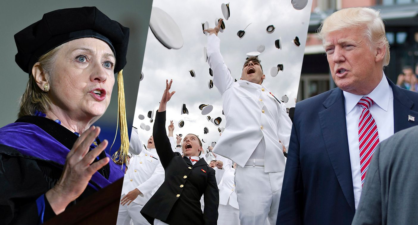Hillary, Naval Academy, Trump & more — it happened today: May 26 in pictures