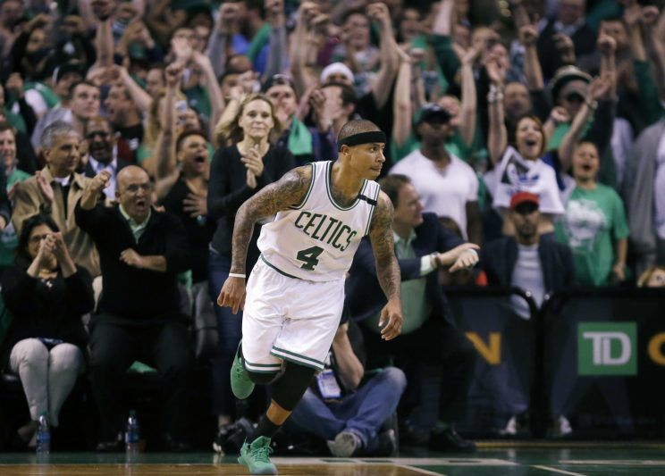 The lottery-winning Celtics now face an Isaiah Thomas-related dilemma - Yahoo Sports