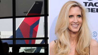 Ann Coulter Locked in Twitter Battle With Delta Airlines Over Seat Snafu