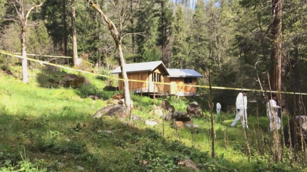 ABC News visits cabin where alleged abductor Tad Cummins was arrested